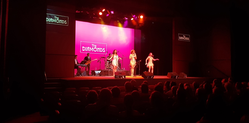 The Diamonds perform at CPAC's 2018 Season Launch